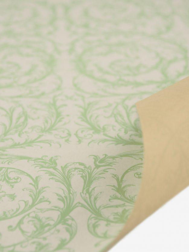 geschenkpapierbogen-creme-mit-barock-pastellgruen
