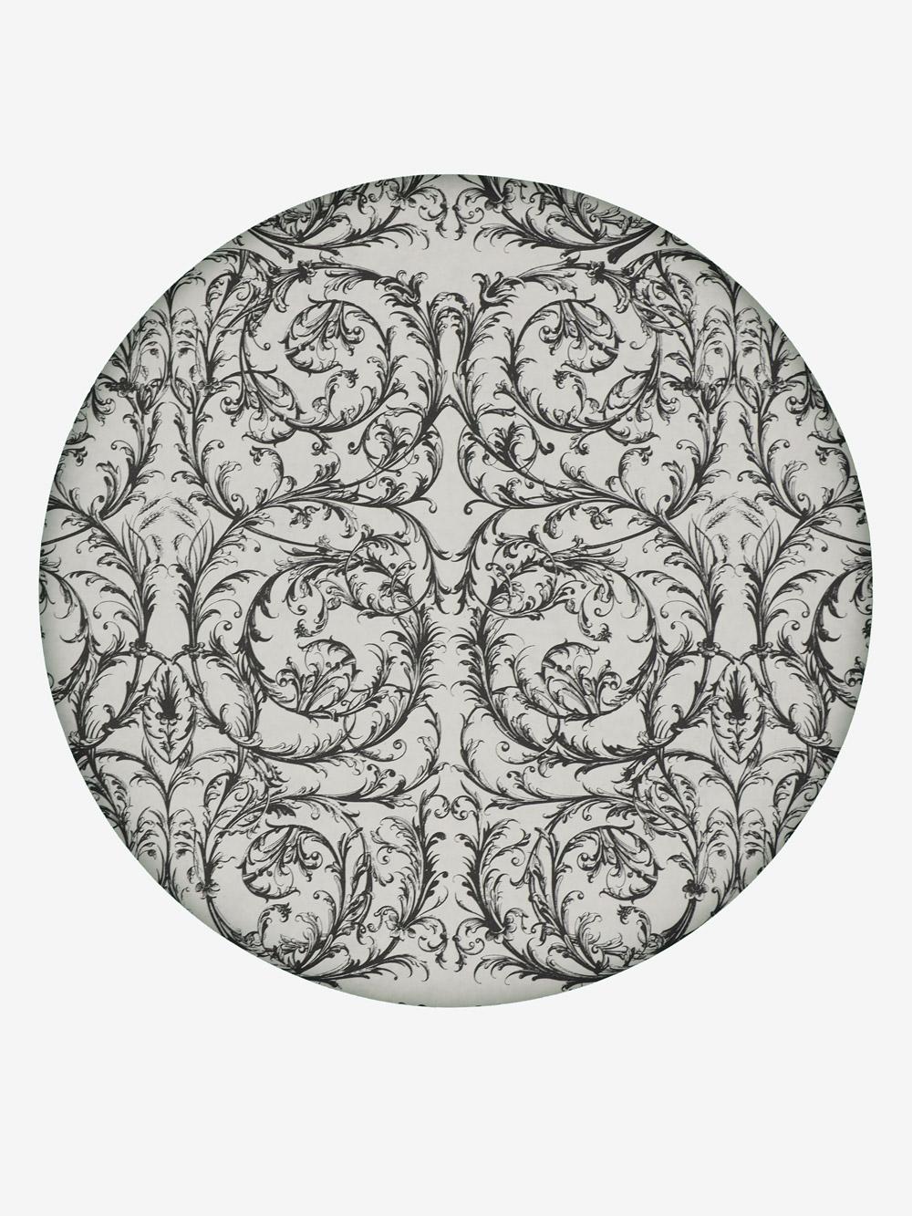geschenkpapier style creme motiv barock in schwarz grossrolle. Black Bedroom Furniture Sets. Home Design Ideas