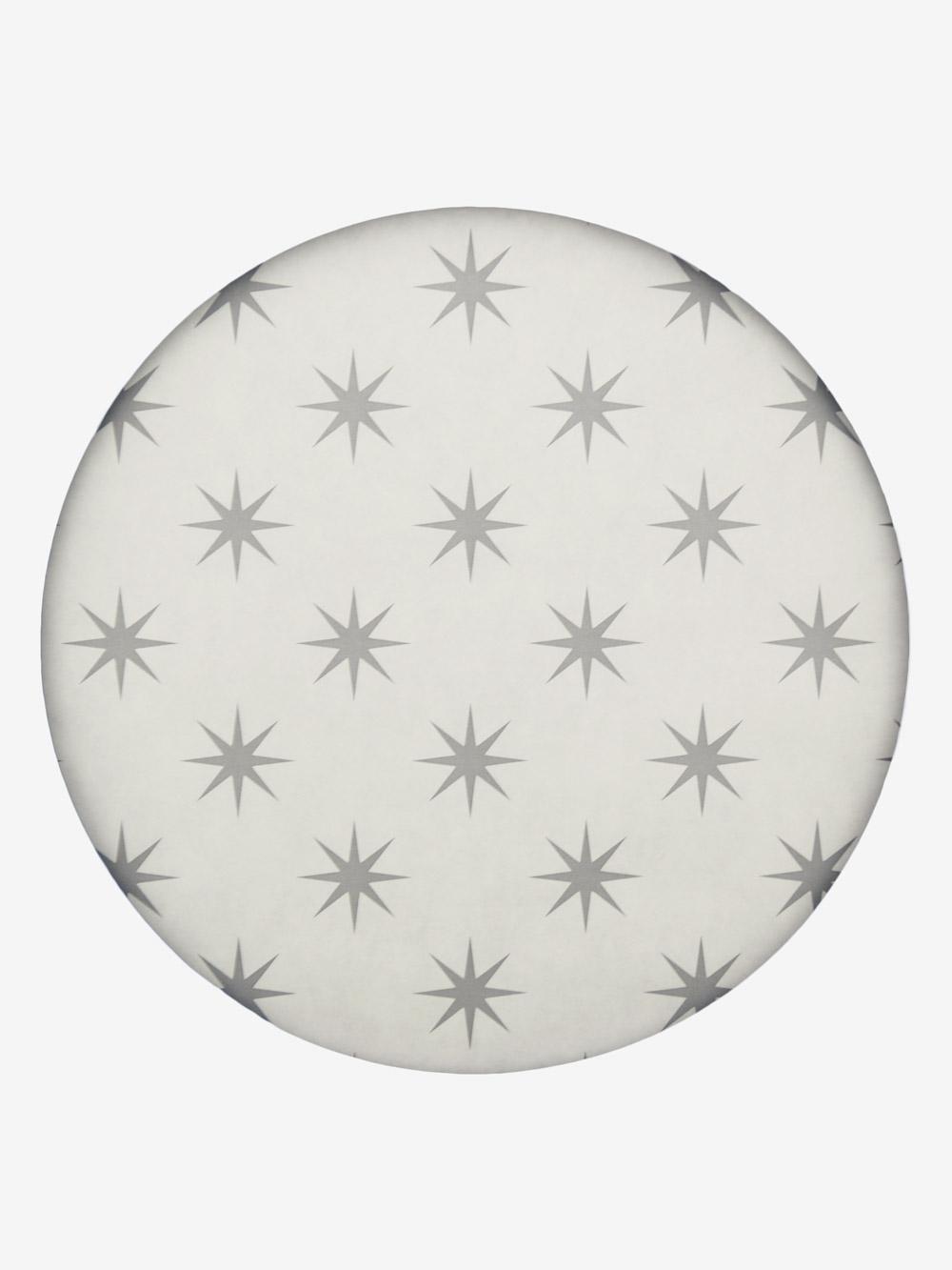 geschenkpapier design creme motiv sterne in grau grossrolle. Black Bedroom Furniture Sets. Home Design Ideas