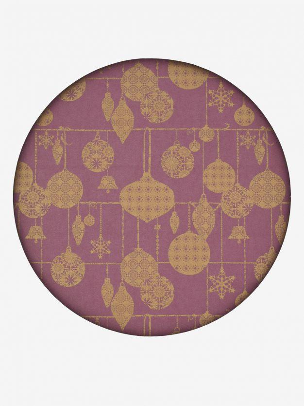 geschenkpapier-mauve-mit-weihnachtskugeln-gold