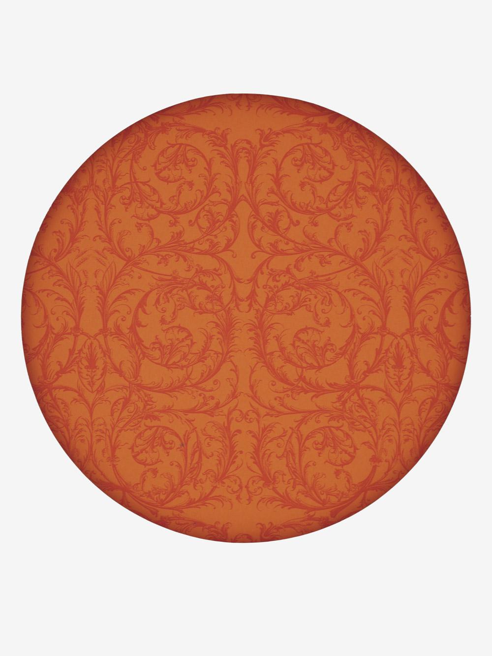 geschenkpapier modern orange motiv barock dunkelorange. Black Bedroom Furniture Sets. Home Design Ideas