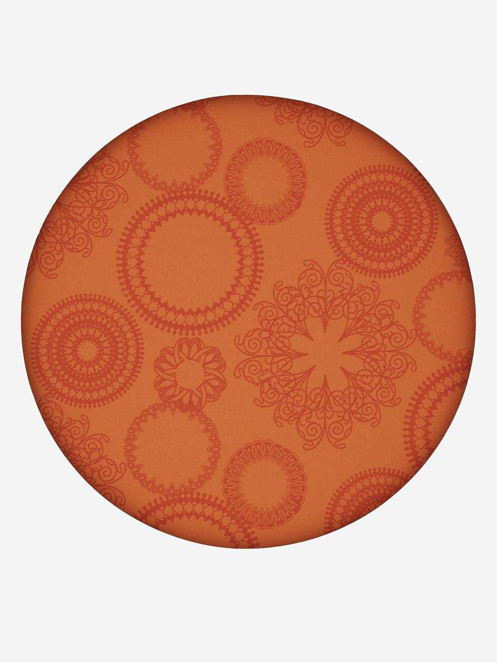 geschenkpapier modern orange motiv ornamente dunkelorange. Black Bedroom Furniture Sets. Home Design Ideas