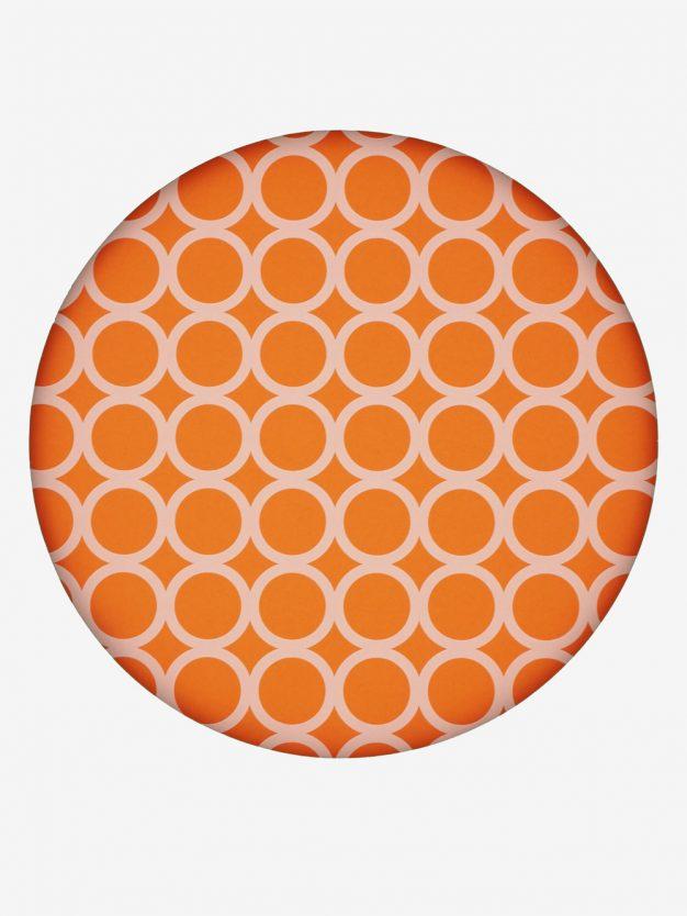 geschenkpapier-orange-mit-ringe-creme