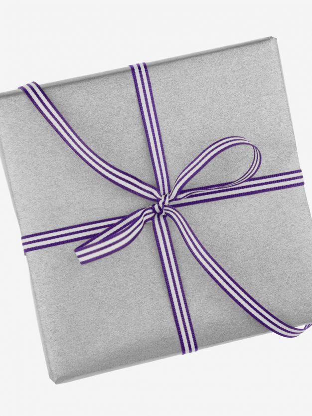 geschenkband-gewebt-lila-weiss-gestreift-hochwertig