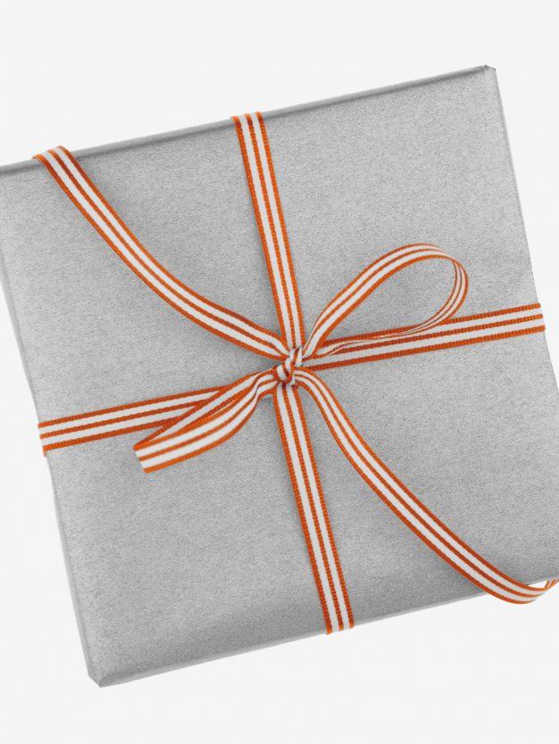 geschenkband-gewebt-orange-weiss-gestreift-hochwertig