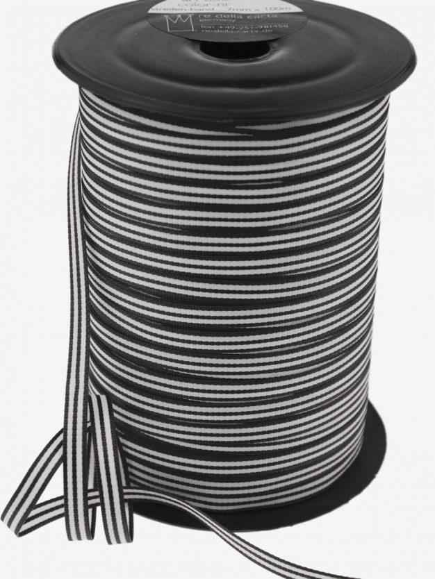 streifenband-gewebt-schwarz-weiss-schmal-hochwertig
