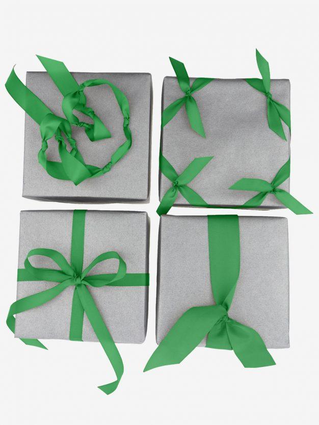 schleifen-geschenkbaender-kraeftig-gruen-hochwertig