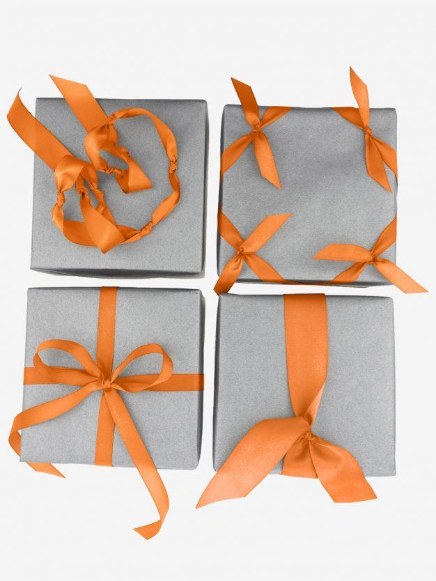 schleifen-geschenkbaender-orange-hochwertig
