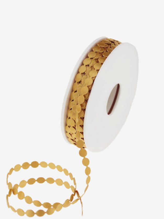 dottiband-gold-schmal-weihnachten