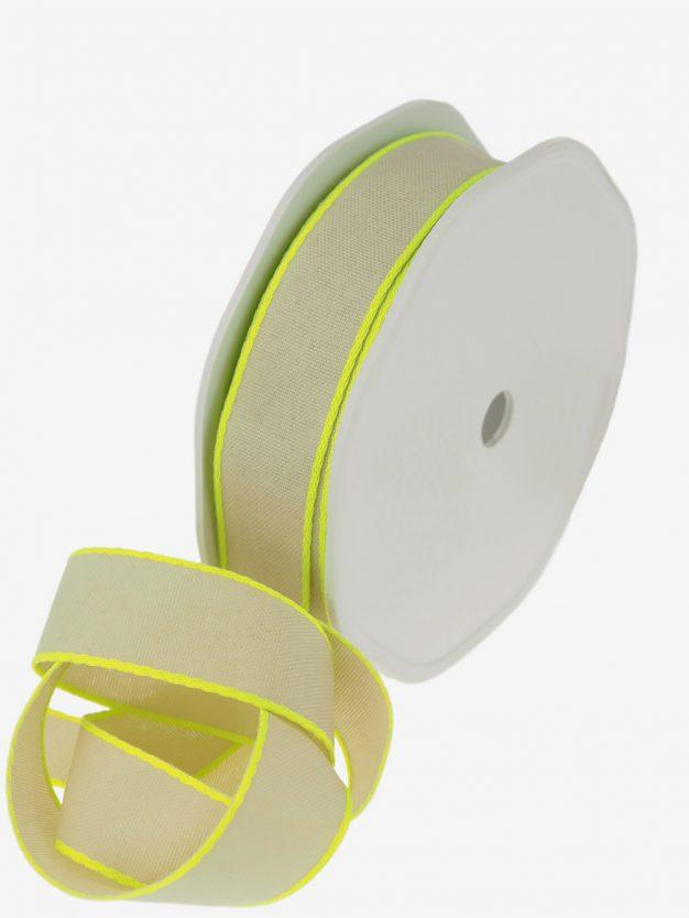 geschenkband-natur-webkante-neon-gelb-breit