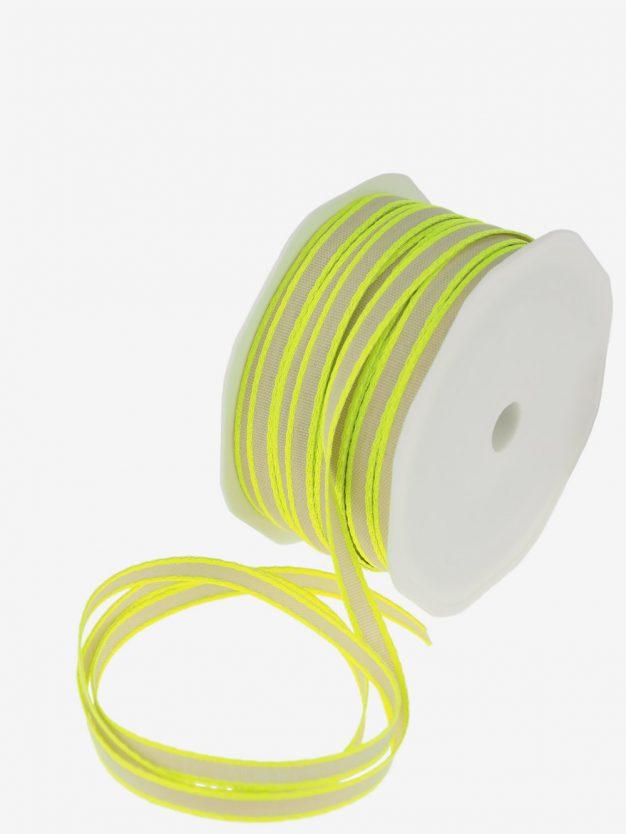 geschenkband-natur-webkante-neon-gelb-schmal