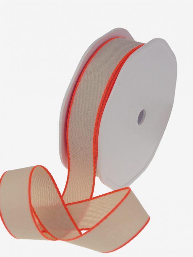 geschenkband-natur-webkante-neon-orange-breit