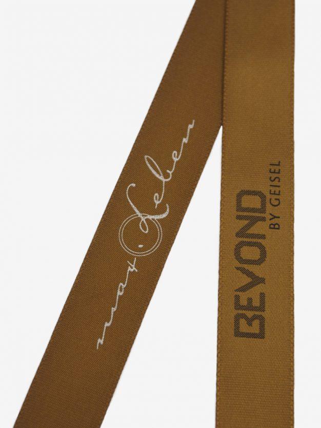 geschenkband-bedruckt-mit-firmenlogo-bronze