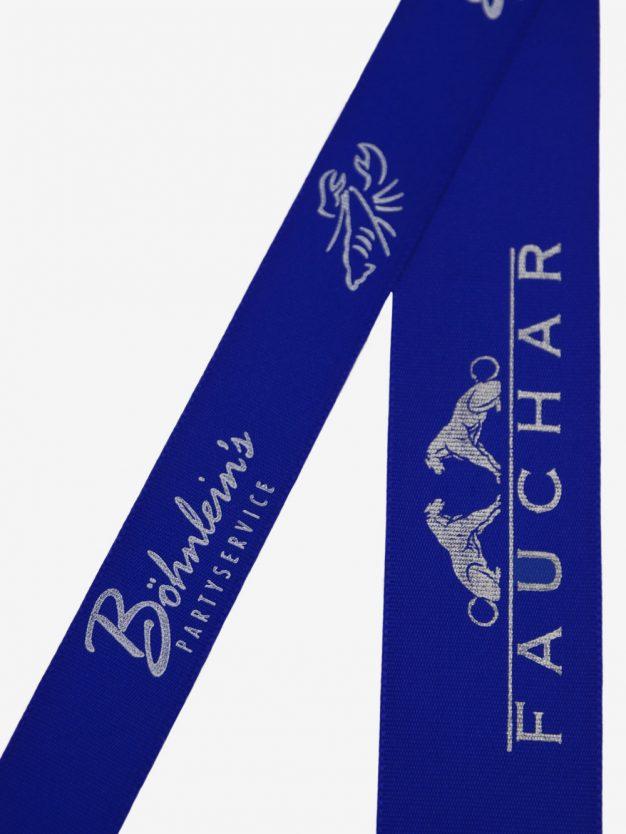 geschenkband-bedruckt-mit-firmenlogo-kobaltblau