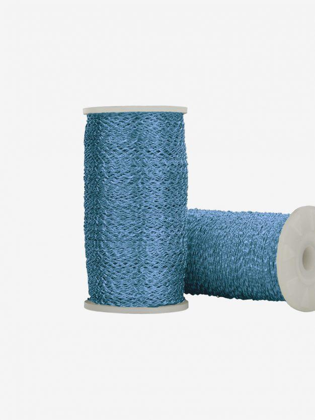 dekodraht-gewellt-blau-drahtkugel-geschenkverpackung