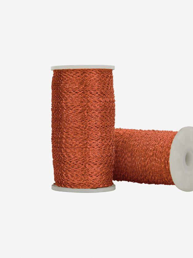 dekodraht-gewellt-orange-drahtkugel-geschenkverpackung