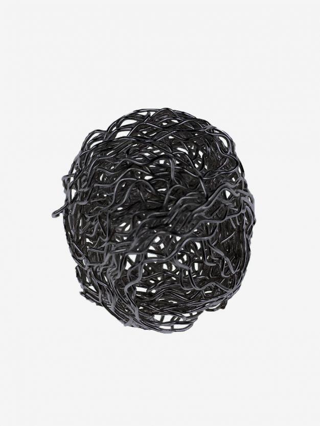 bouillondraht-gewellt-schwarz-kugel-geschenkverpackung