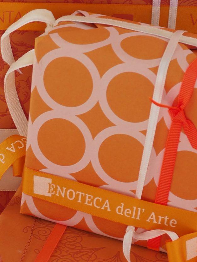 logoband-orange-hochwertig-gewebt