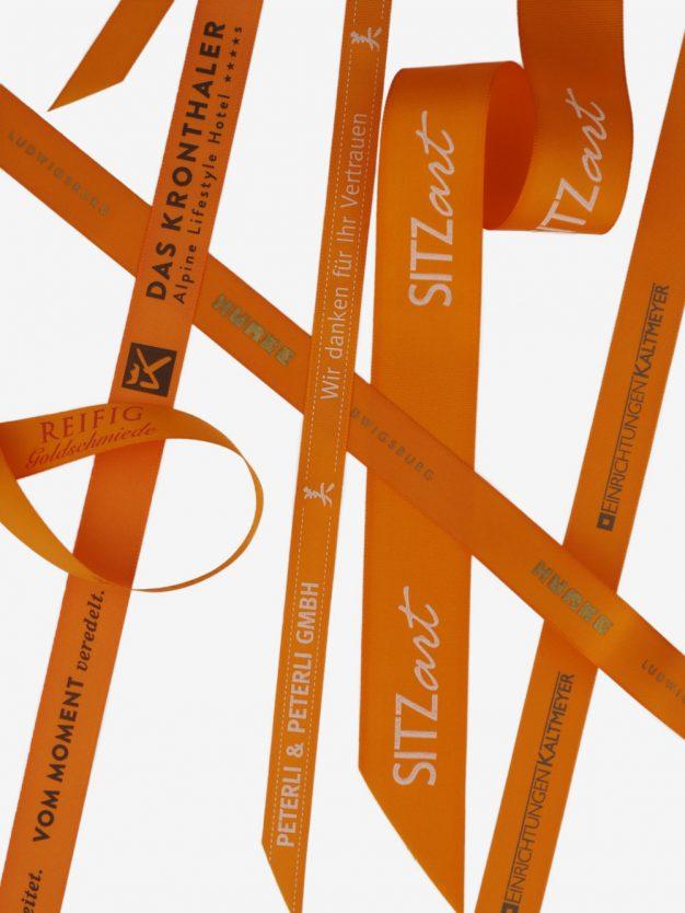 taftband-bedruckt-orange-hochwertig