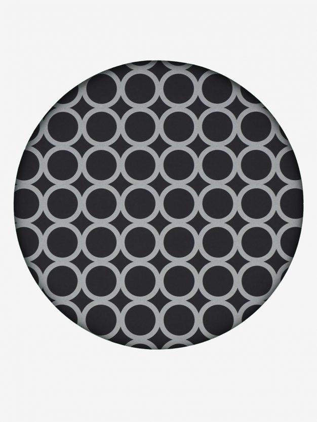 geschenkpapier-schwarz-mit-ringe-silber