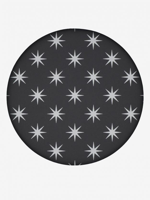 geschenkpapier-schwarz-mit-sternen-silber