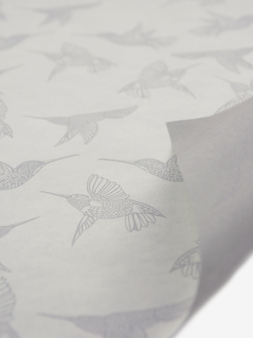 Geschenkpapier; creme; bedruckt grau